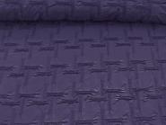 Couture-Stoff mit elastischer Raffung Nr. 99-025-C in dunkel-lila, Breite ca. 130 cm