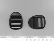 Verstellschnalle-Gurtschnalle Nr. 0650 schwarz