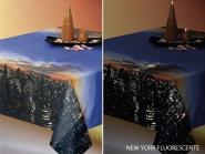 Tischtuch 018022 New York - fluoreszierend, Breite ca. 140 cm