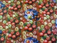 Wachstuch KT723 - Motiv Apfel, Breite ca. 140 cm