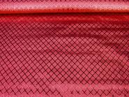 Jacquardstoff CA1005-005 rubinrot mit Rautenmuster, Breite ca. 145 cm