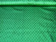 Jacquardstoff CA1005-008 grün mit Rautenmuster, Breite ca. 145 cm