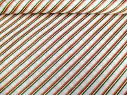 Weihnachtsdekostoff L8113-124 in weiß mit Glitterstreifen diagonal, Breite ca. 150 cm