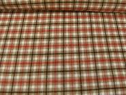 Woll-Karostoff V6871-004 in braun mit roten und schwarzen Überkaros, Breite ca. 145 cm