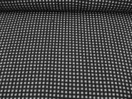 Wollstoff 80823 in schwarz-hellgrau, Breite ca. 152 cm