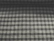 Woll-Karostoff 81107 in schwarz-natur, Breite ca. 150 cm