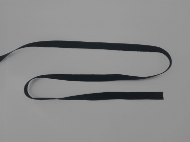 Baumwoll-Nahtband 111211-10s, Farbe schwarz