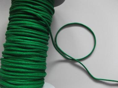 Baumwollkordel geflochten Nr. 6978172-05, Farbe 05 grün
