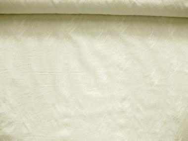 Baumwollstoff 80605 in creme - bestickt