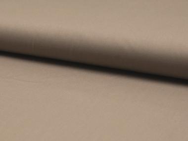 Baumwollstoff - Popeline QRS0150-254, Farbe 254 graubraun (taupe)