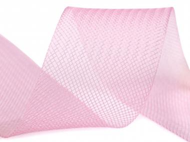 Crinoline Versteifungsband fest S750344-08, Breite 5 cm, Farbe 08 rosa