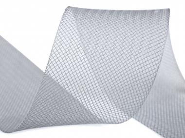 Crinoline Versteifungsband fest S750344-09, Breite 5 cm, Farbe 09 grau