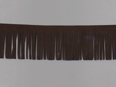 Fransenborte Wildleder-Imitat 38092-5m