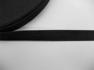 Gurtband 0649-20 schwarz, Stärke ca. 1,5 mm, Breite ca. 20 mm