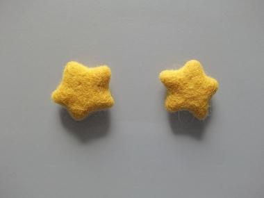 Jim Knopf Filzstern klein Nr. 12335-54-05, Farbe 05 gelb