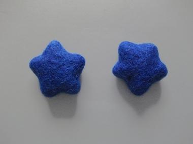Jim Knopf Filzstern medium Nr. 12335-74-01, Farbe 01 blau