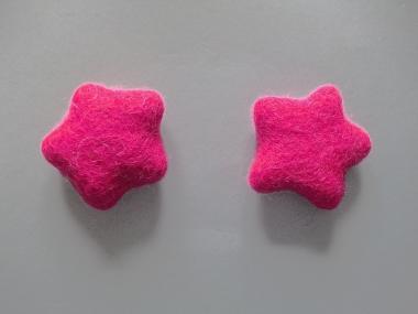 Jim Knopf Filzstern medium Nr. 12335-74-06, Farbe 06 pink