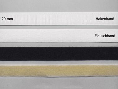 Klettband Standard zum Annähen Nr. 91665-F, Flauschband einzeln