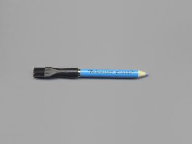 Kreidestift blau mit Löschbürste
