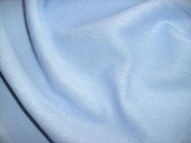 Leinen-Viskosestoff LV80301-017, Farbe 017 hellblau
