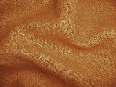 Leinenstoff Barcelona L733-472, Farbe 472 bernstein