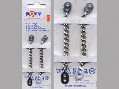 Pronty Mantelaufhänger Metall