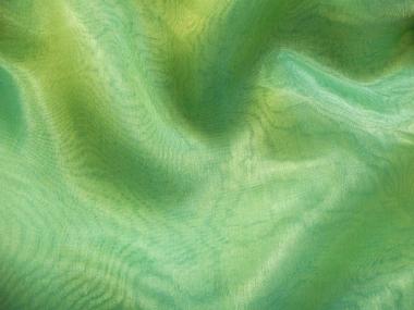 Organzastoff - Organza two tone L720b-295, Farbe 295 hellgrün-blau