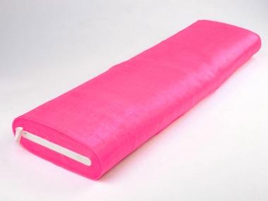 Organzastoff - Organza uni L720a-18, Farbe 18 pink