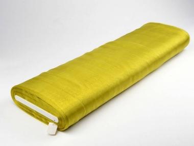Organzastoff - Organza uni L720a-52, Farbe 52 gelboliv