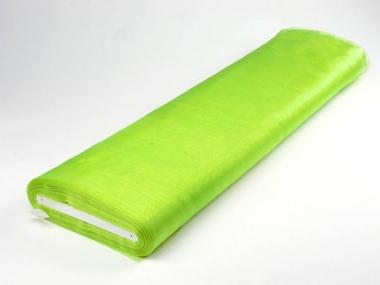 Organzastoff - Organza uni L720a-63, Farbe 63 limette