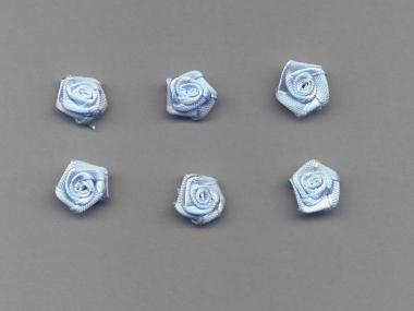 Satinrose R104-308, Farbe hellblau