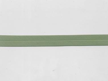 Baumwoll-Schrägband Nr. 6129-112 in helloliv, Breite ca.20 mm