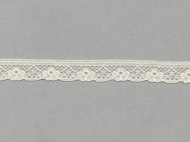 Spitze mit einseitiger Bogenkante Nr. 70622-1100, Farbe 1100 creme