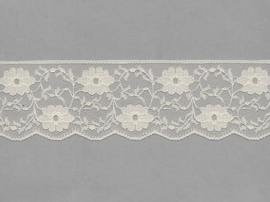 Spitze mit einseitiger Bogenkante Nr. 70623-1100, Farbe 1100 creme