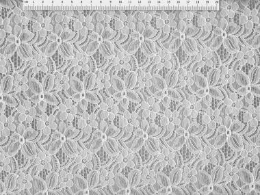 Spitzenstoff HS5002-01 mit Blumenmuster