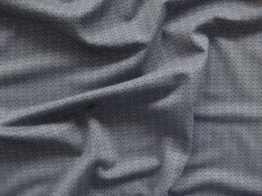 Viskose-Jersey PO092402-15 in grau mit feinem Jacquardmuster