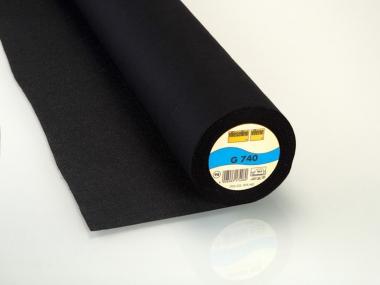 Gewebeeinlage Vlieseline G 740-98, Farbe schwarz