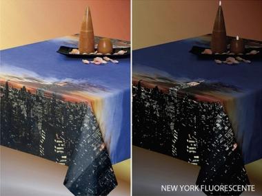 Tischtuch 018022 New York - fluoreszierend