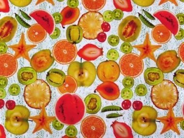 Wachstuch KT811 - Motiv Südfrüchte