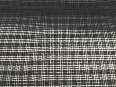 Woll-Karostoff 81107 in schwarz-natur