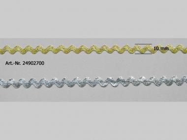 Lurex-Zackenlitze 24902700, Breite ca. 5 mm