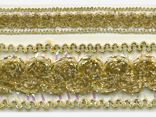 Brokatborte gold Nr. 602-24