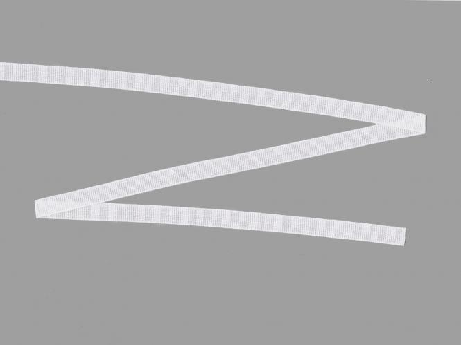 Baumwoll-Nahtband 111211-10w, Farbe weiß