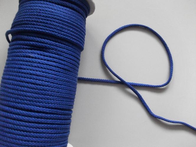 Baumwollkordel geflochten Nr. 6978172-06, Farbe 06 kobaltblau