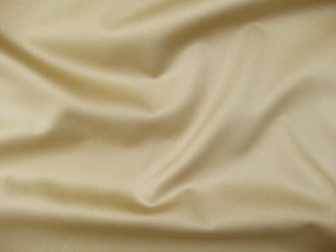 Baumwollstoff Nr. 471177 in camelbraun mit seidigem Glanz