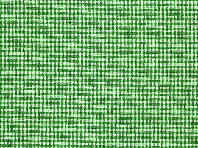 Baumwollstoff Vichykaro RS0138-025 - 2 mm - Farbe grün