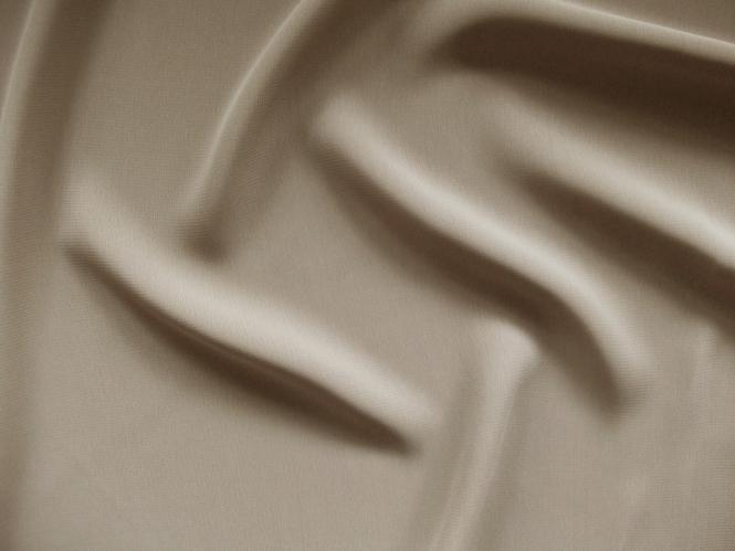 Chiffon uni L735-74, Farbe 74 graubraun