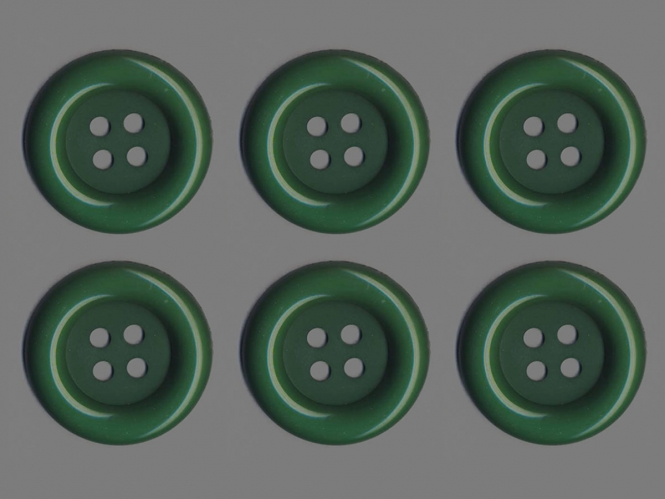 Clowns-Knöpfe 10115107-106gn, Farbe grün