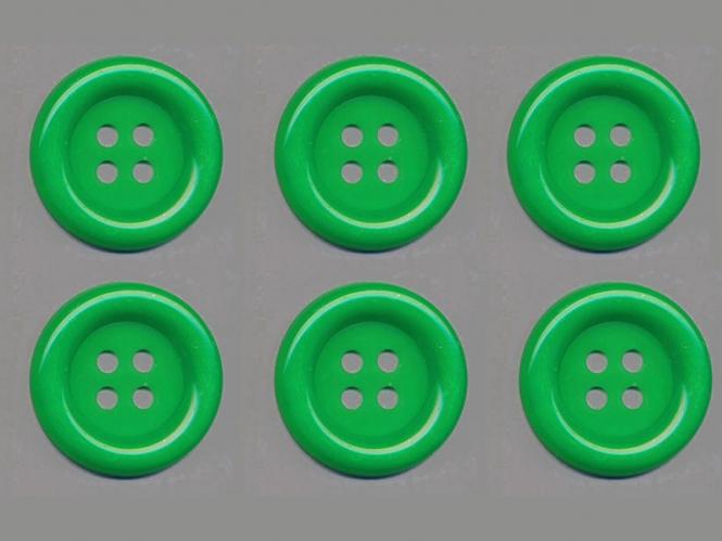 Clowns-Knöpfe 10115091-80gn, Farbe grün