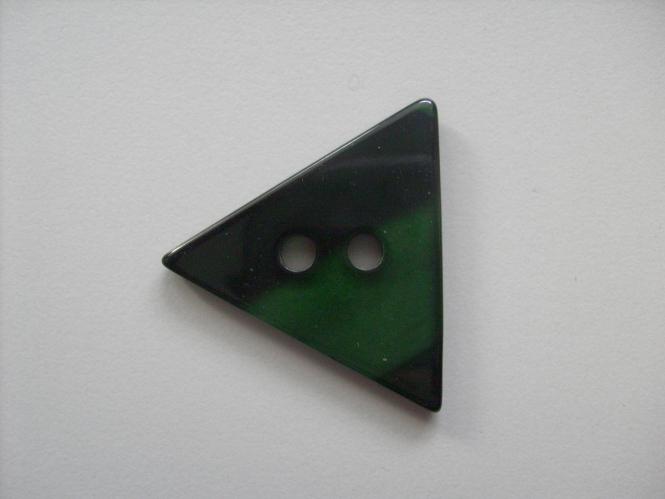 Dreiecksknopf Nr. DK02171/54-97, Farbe 97 dunkelgrün
